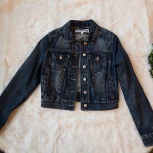 Express crop jean jacket